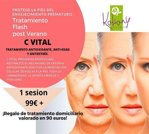 El Cuidado facial al completo: C vital