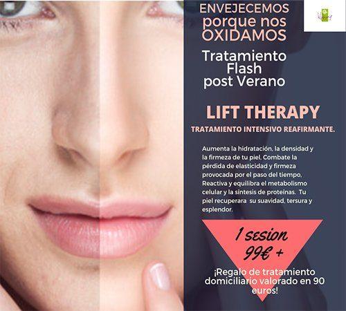 El Cuidado facial al completo: Lift Therapy